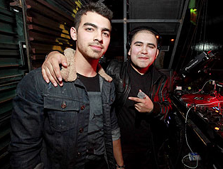 Joe Jonas at The Underground Chicago