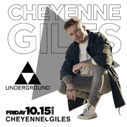 Cheyenne Giles Performs at The Underground