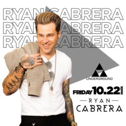 Ryan Cabrera Performs at The Underground